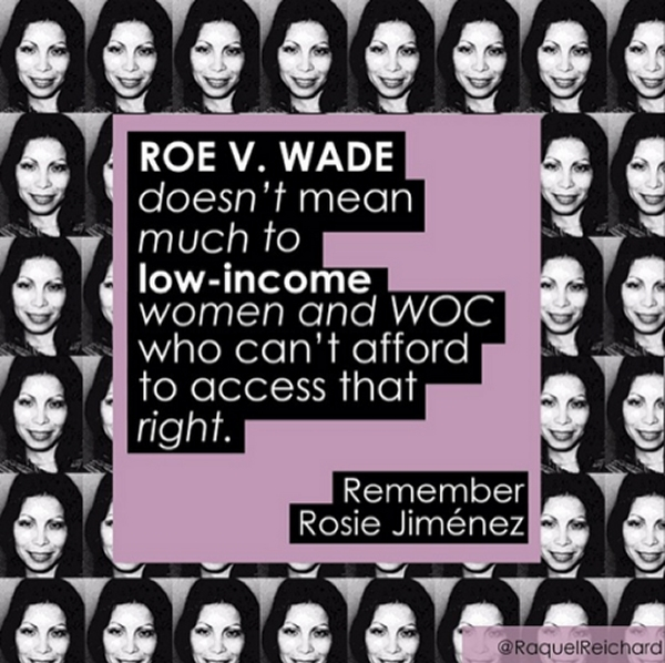Poor Women and Roe