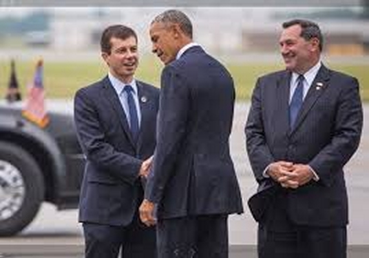 Obama and Buttigieg