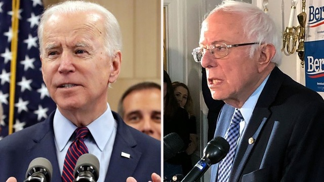 Bernie and Biden