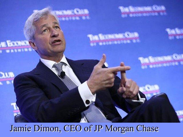 Jamie Dimon, CEO of J.P. Morgan Chase