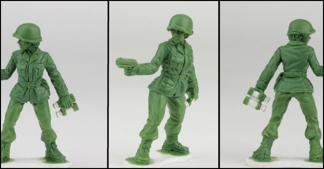 Women Toy Soldiers