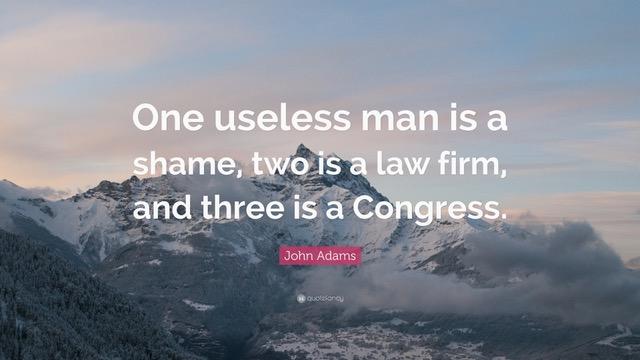 Useless Congress